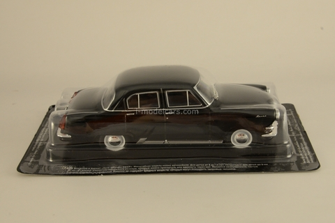 GAZ-21R Volga third series 1962 black 1:43 DeAgostini Auto Legends USSR #73