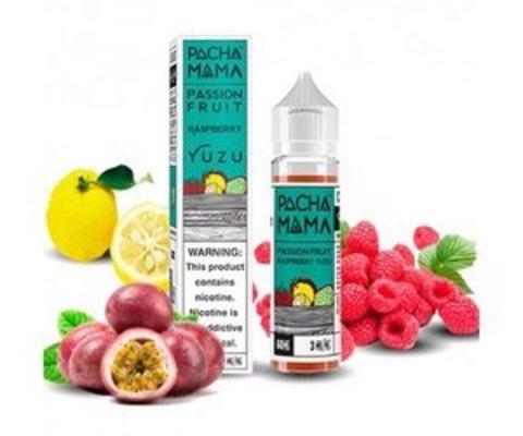 Pacha Mama - Passion Fruit Raspberry Yuzu (60 мл)