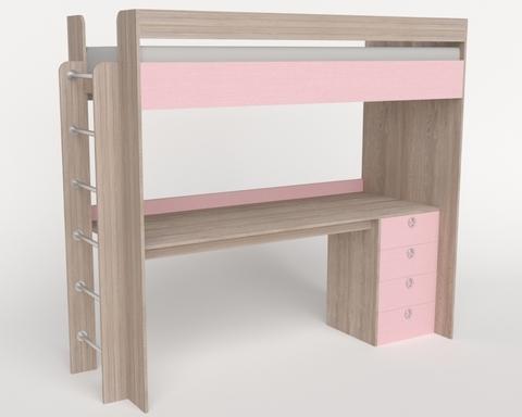 Кровать-стол ШИБУЯ-2 левая