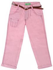 524-053-1 брюки для девочек, розовые
