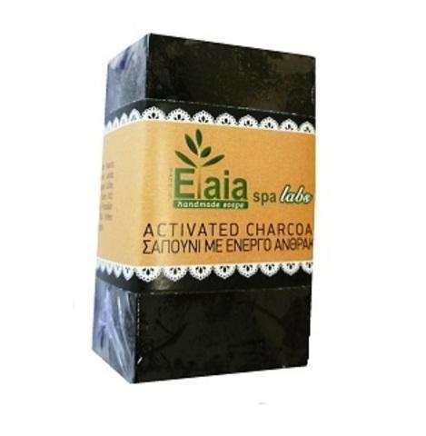 Мыло скраб с активированным углем Elaia spa 150 гр.