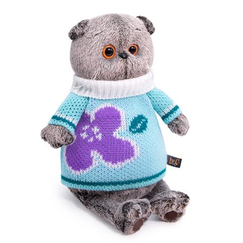Кот Басик в весеннем свитере