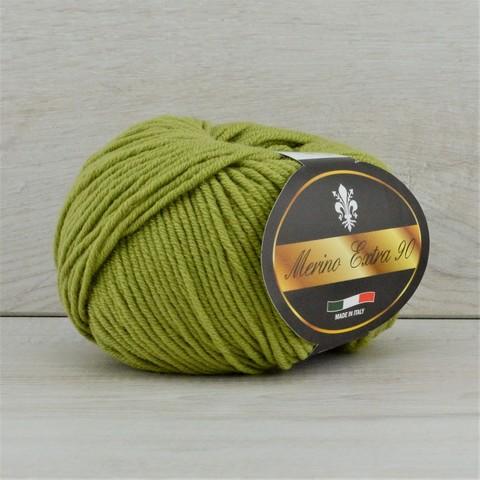 Пряжа Merino Extra 90 (Мерино экстра 90) Оливковый