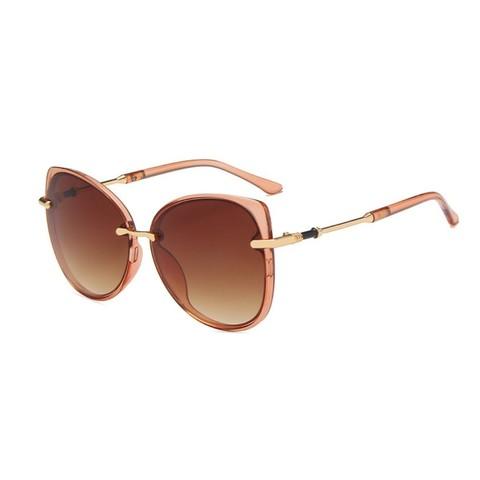Солнцезащитные очки 6047002s Коричневый - фото