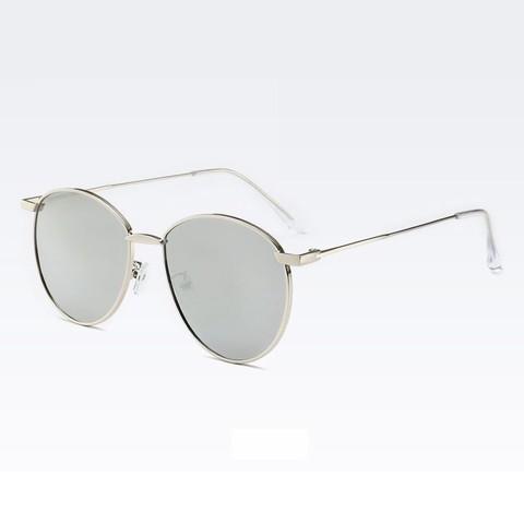 Солнцезащитные очки 28042003s Серебряный - фото
