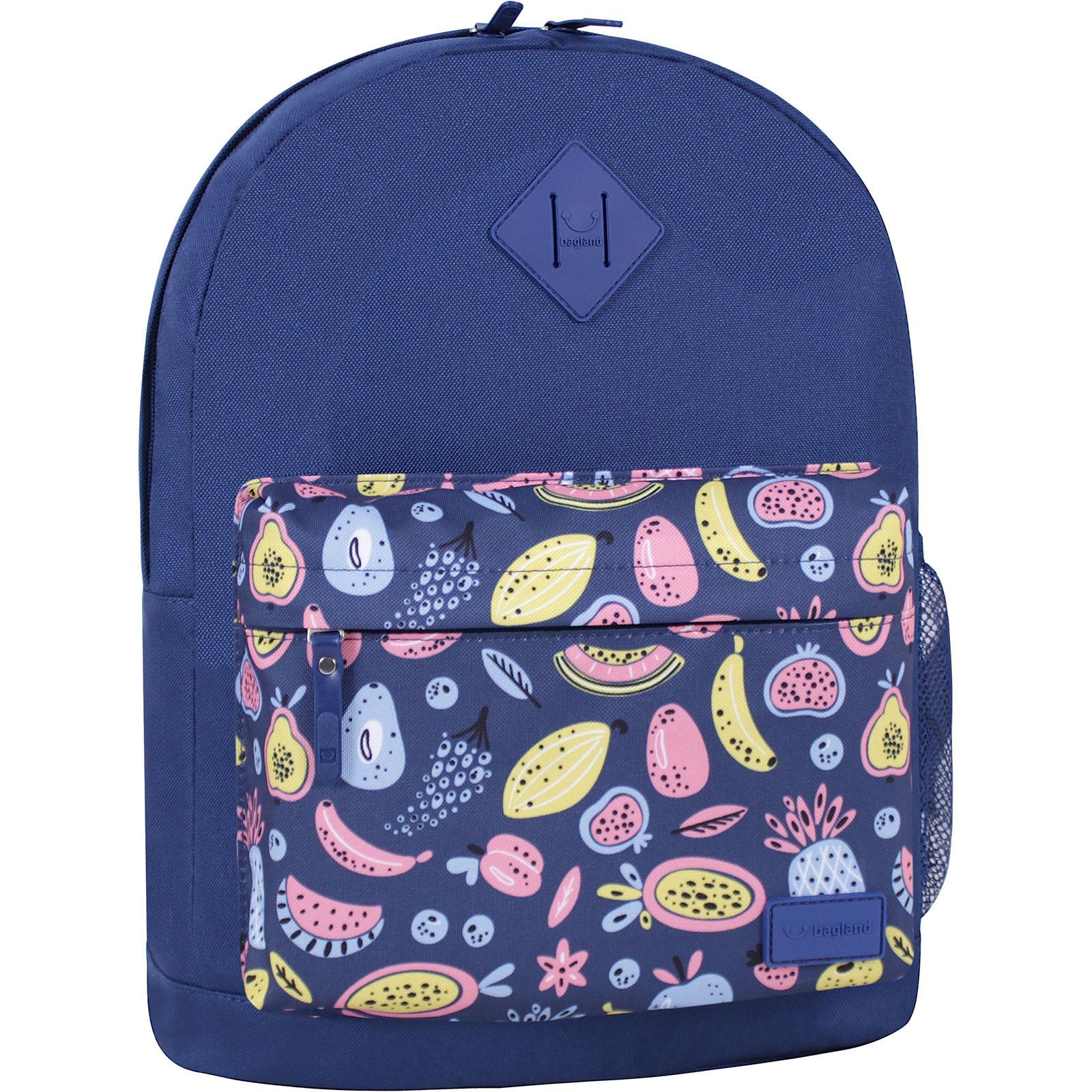 Молодежные рюкзаки Рюкзак Bagland Молодежный W/R 17 л. Синий 765 (00533662) IMG_6543_суб.765_-1600.jpg