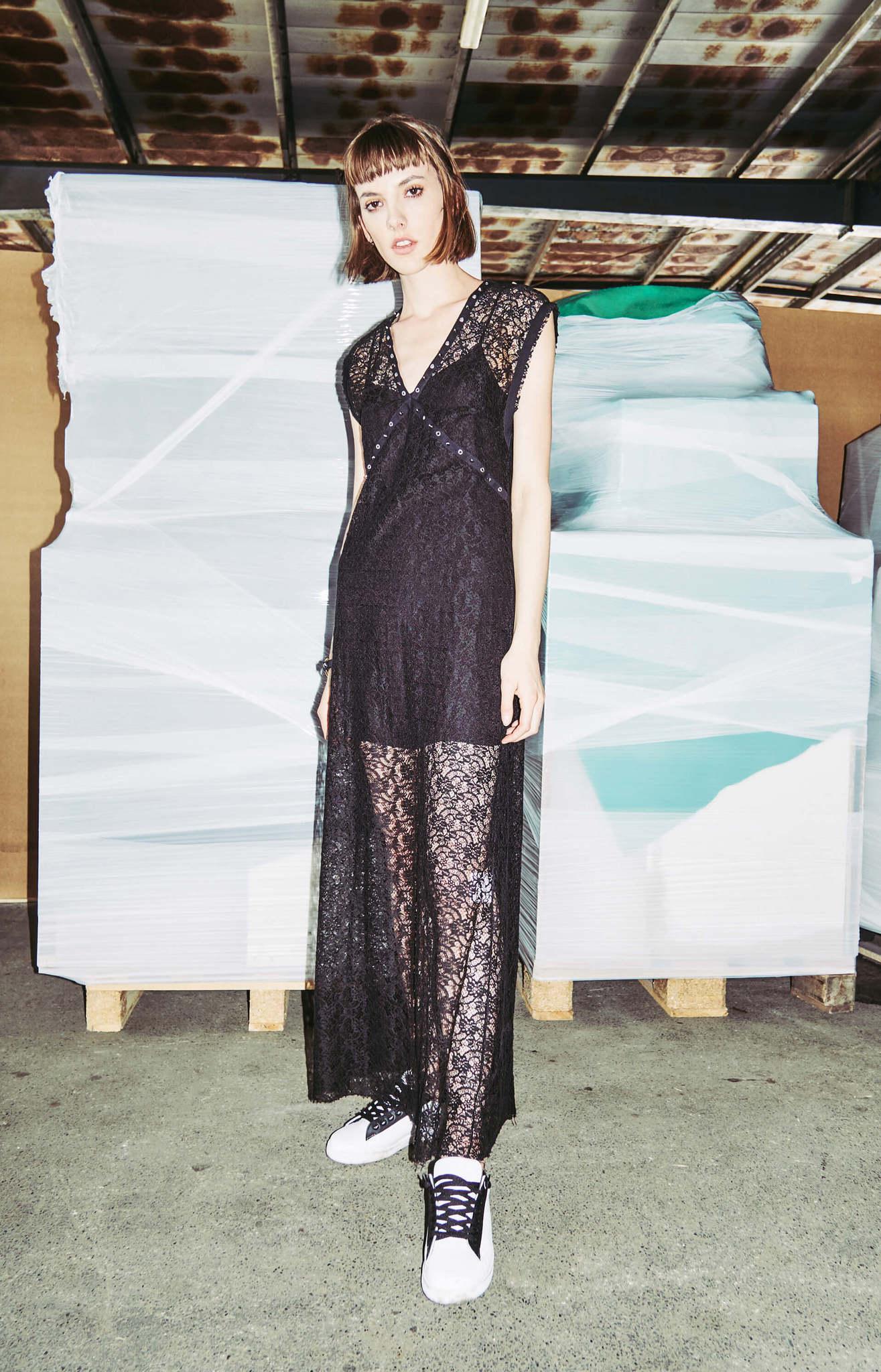 8PM Платье-макси кружевное