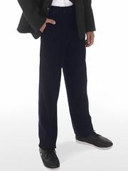 75533-2 брюки подростковые, темно-синие