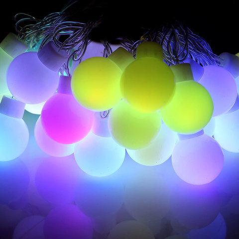 Шар гирлянда большой LED светодиодный