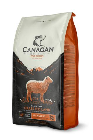 Сухой корм Canagan Grain Free Grass Fed Lamb для собак всех пород