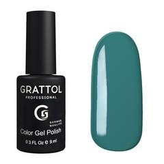 Grattol, Гель-лак 038, Celadon, 9 мл