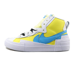 Sacai x Nike Blazer 'White/Yellow/Blue'