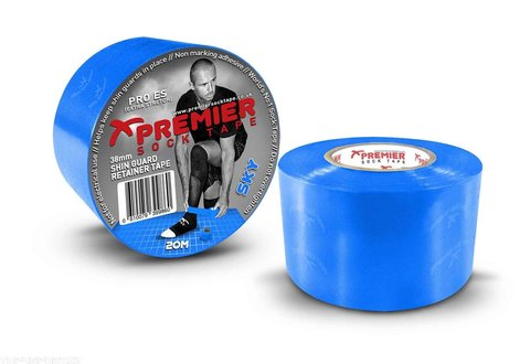 PST Shin Guard Retainer Tape 38mm x 20m - SKY BLUE