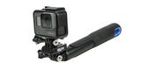 Переходник с быстросъемной площадкой SP Clip Adapter на моноподе с камерой