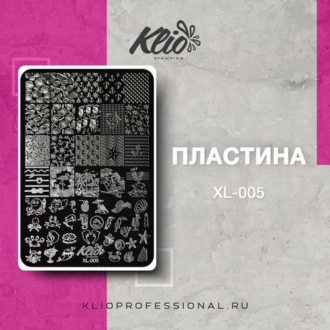 ПЛАСТИНА ДЛЯ СТЕМПИНГА KLIO PROFESSIONAL XL-005