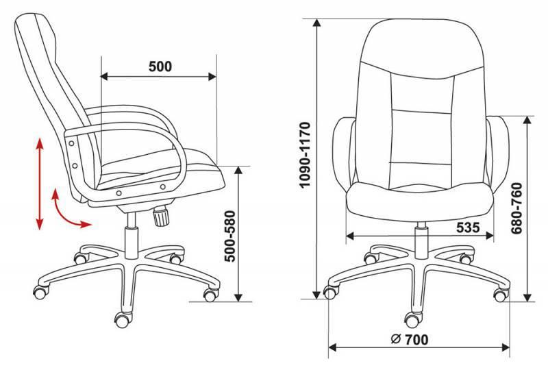 Кресло для руководителя CH-848AXSN