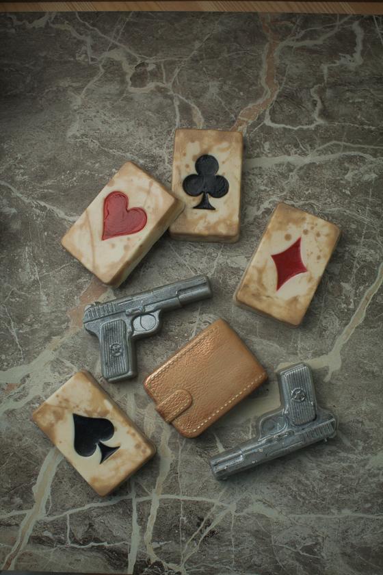 Мыло Пистолет. Форма пластиковая