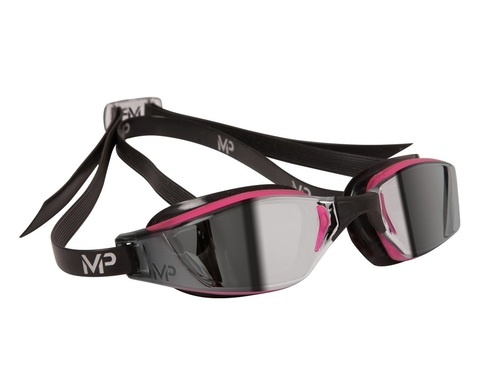Очки для плавания Michael Phelps Xero/Xceed Lady (зеркальные линзы), pink/black