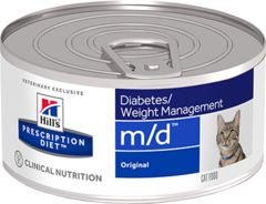 Ветеринарный корм для кошек Hill`s Prescription Diet m/d, при диабете/лишнем весе
