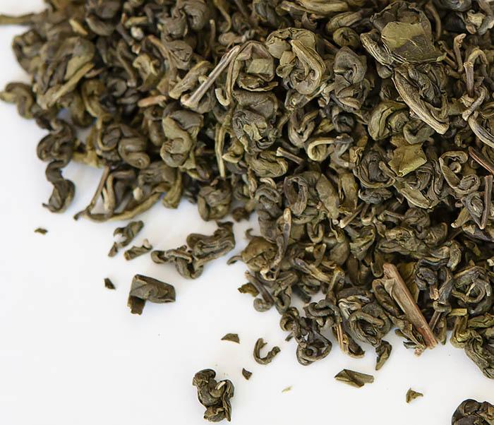 TEA-CH103 Зеленый чай «Изумрудные Спирали Весны» из Банна (Би Ло Чунь, 50 гр)