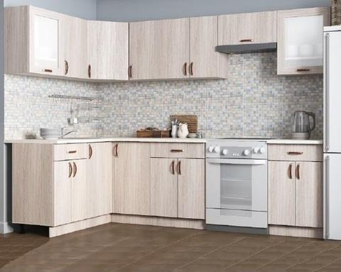 Кухня модульная угловая ЛЕГЕНДА-10 2700*1500