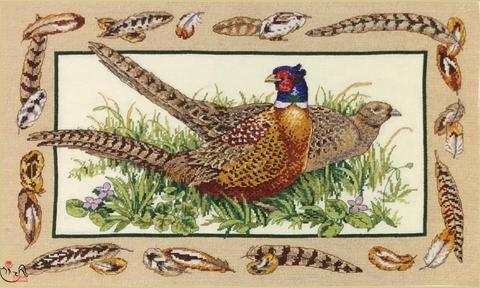 Набор для вышивания Перья птиц. Арт. 3179