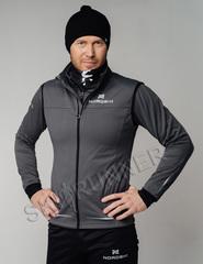 Элитная утеплённая лыжная куртка Nordski Pro Graphite мужская