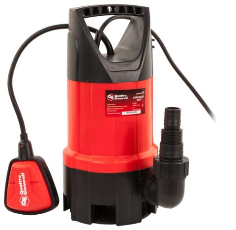 Дренажный насос QUATTRO ELEMENTI Drenaggio  550 F (550 Вт, 10500 л/ч, для грязной, 7 м, 4, (770-711)