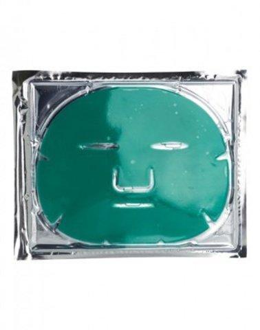 Коллагеновая балансирующая маска с зеленым чаем для жирной и смешанной кожи