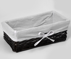 Плетеная корзина для ванной WasserKRAFT Lossa WB-120-S