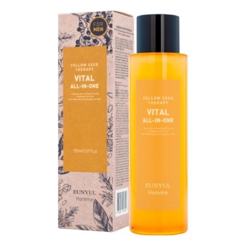 Многофункциональное витаминизирующее средство для ухода за кожей для мужчин Eunyul Yellow Seed Therapy Vital Homme All-In-One 150мл