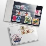 Защитный пластиковый конверт для марок, банкнот, открыток, 150x107 mm, прозрачный