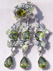 Гладиолус  (кольцо из серебра)