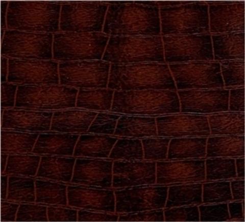 Кресло ГАРМОНИЯ (ИЛ-09-Д Dondolo мод.9 Ant. Крокодил) коричневый крокодил деревянный подлокотник