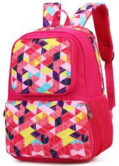 Рюкзак школьный Ziranu 1011 Розовый + Пенал