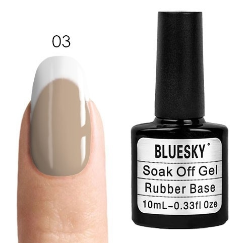 Камуфлирующая база Bluesky Bluesky, Rubber Base Cover Pink - каучуковая камуфлирующая база № 03, 10 мл kauchukovaya-osnova-bluesky-rubber-base-cover-pink-03.jpg