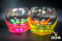 Набор цветных стаканов для воды Crystalex Crazy, 390 мл, 4 шт, фото 3