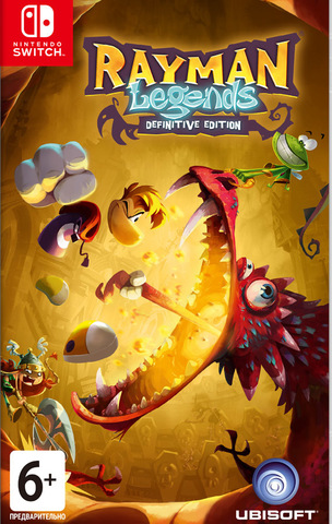 NS: Rayman Legends: Definitive Edition (русские субтитры)