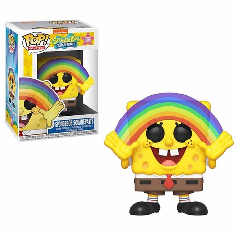 Spongebob Squarepants Vinyl Figure    Спанчбоб с радугой