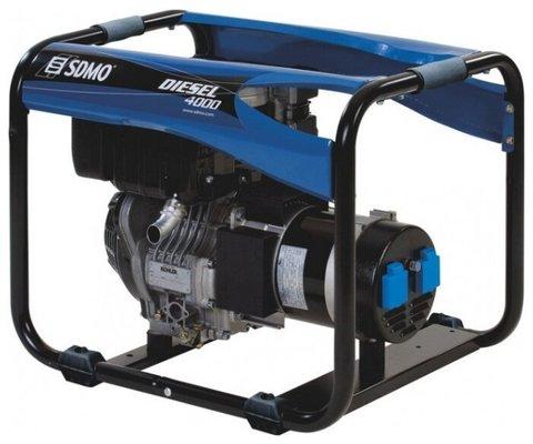 Кожух для дизельной электростанции SDMO Diesel 4000 E XL AUTO