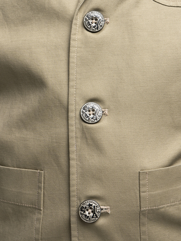 Мужской пиджак бежевого цвета