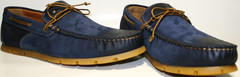 Туфли мокасины мужские. Топсайдеры Luciano Bellini