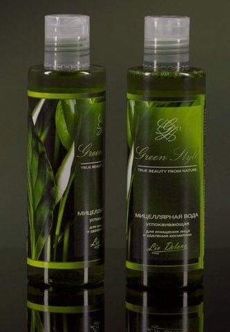 Liv-delano Green Style Мицеллярная вода успокаивающая для очищения лица  200гр