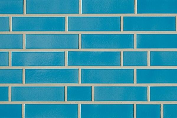 ABC - глазурованная, Hellblau 340, 240х71х10, NF - Клинкерная плитка для фасада и внутренней отделки