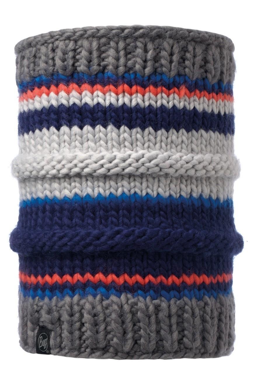 Вязаные шарфы Вязаный шарф-труба с флисовой подкладкой Buff Dorian Blue Ink 116026.752.10.00.jpg