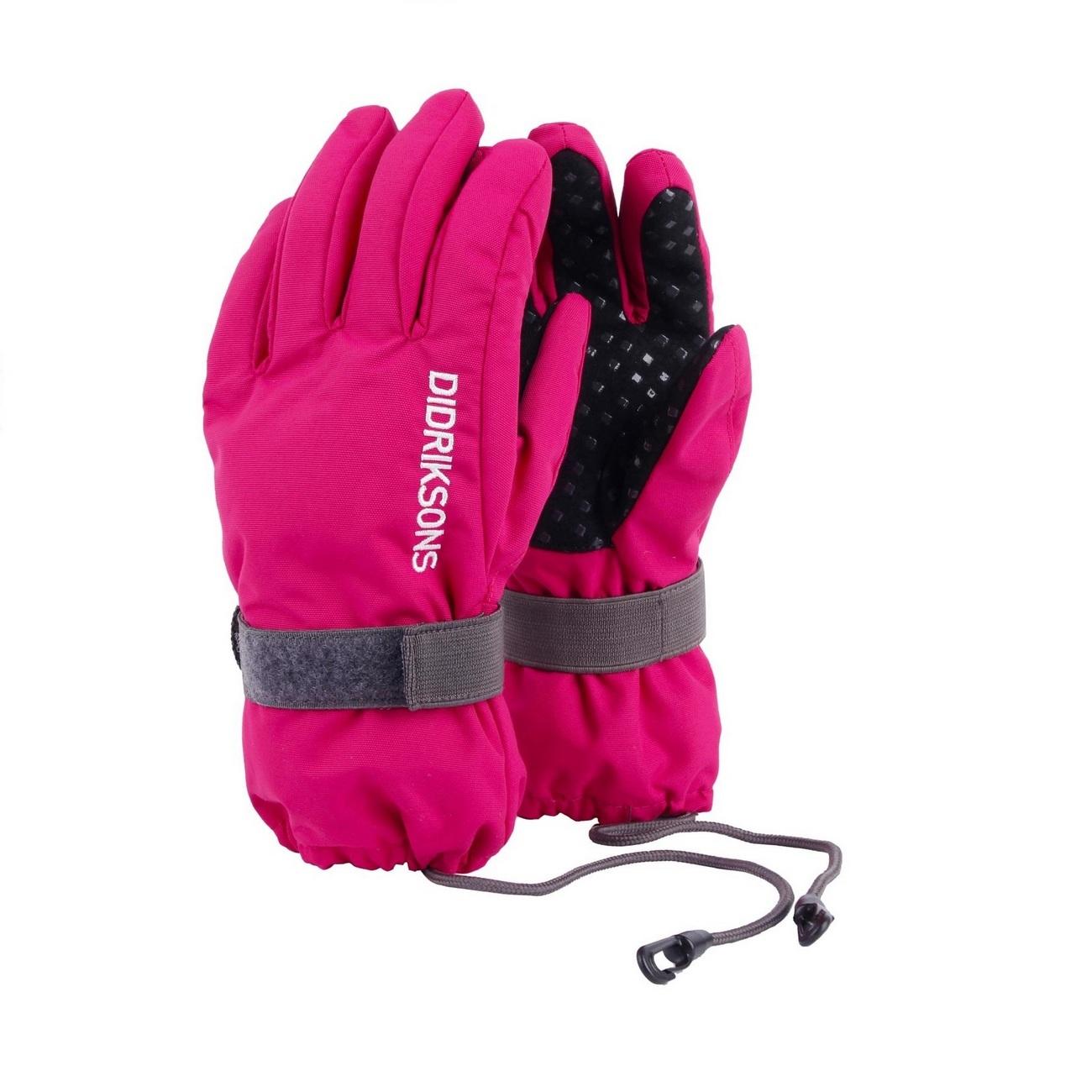 перчатки Didriksons Biggles Five Warm Cerise