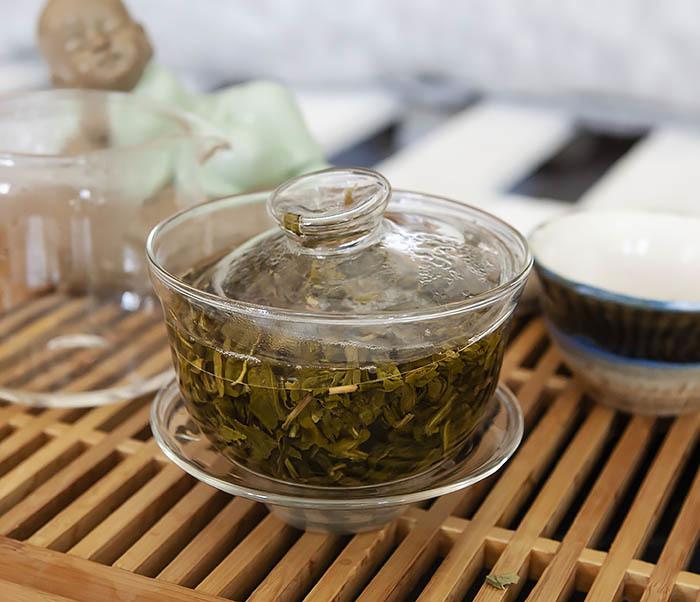 TEA-CH103 Зеленый чай «Изумрудные Спирали Весны» из Банна (Би Ло Чунь, 50 гр) фото 07