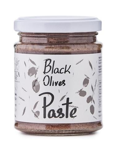 Оливковая паста из черных маслин