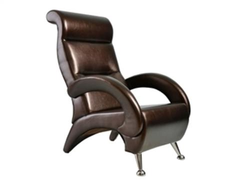 Кресло ГАРМОНИЯ (ИЛ-09-К Dondolo мод.9 Ant. Крокодил) коричневый