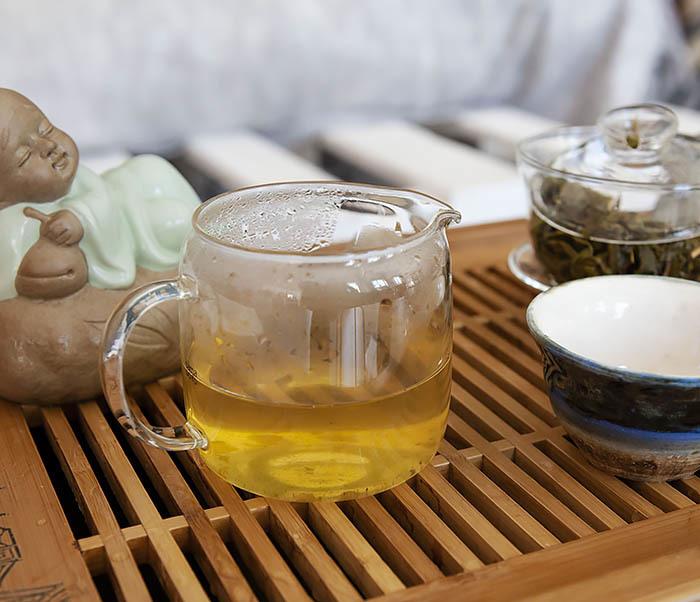 TEA-CH103 Зеленый чай «Изумрудные Спирали Весны» из Банна (Би Ло Чунь, 50 гр) фото 08